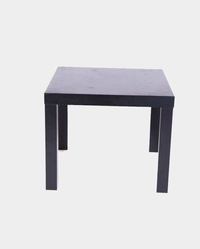 Wood Black Side Table